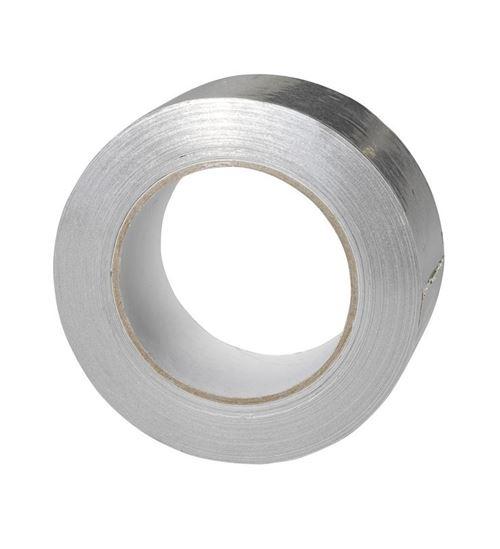 Ruban adhésif aluminium - Le rouleau de 20m x 10cm