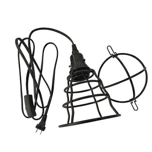 Lustre Industriel Plug-Rétro Lustre E26E27 Lustre Plug Luminaire JJZM1079