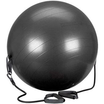 Photo de ballon-de-fitness-avec-tube-de-resistance