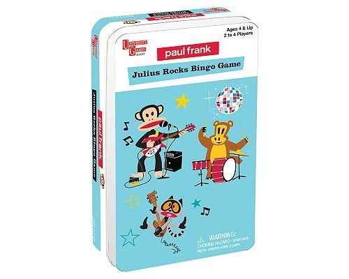 University Games Paul Frank - Loto Julius Rocks - jeu de cartes