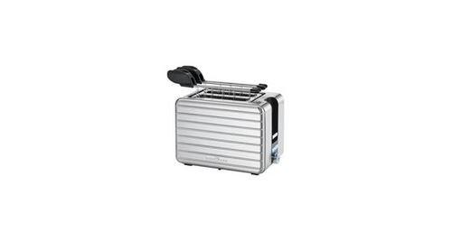 ProfiCook PC-TAZ 1110 - Grille-pain - 2 tranche - 2 Emplacements - inox/noir