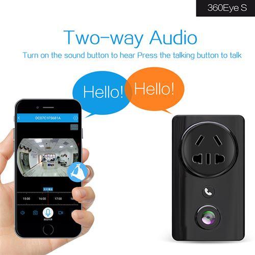 Caméra de surveillance mini WiFi 1080P Accueil