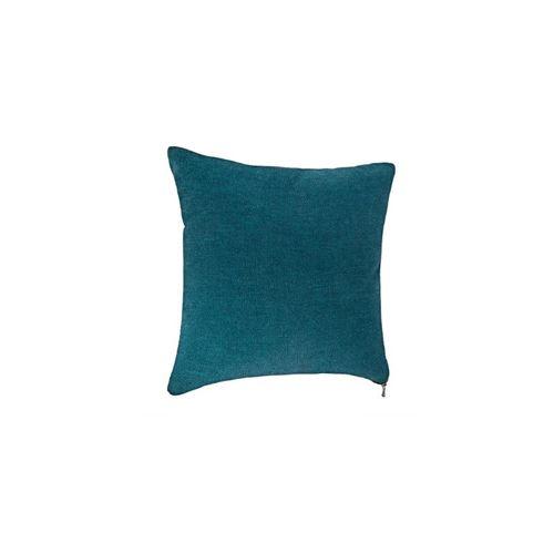 Coussin Zipper - 40 x 40 cm - Bleu