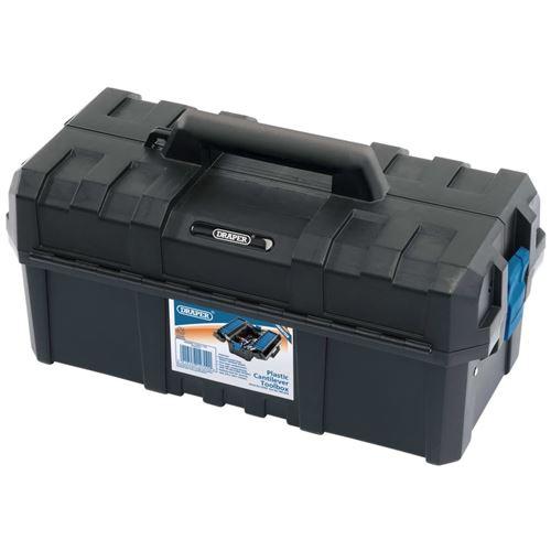 Draper Tools Boîte à outils cantilever 45,4x23,5x23,5 cm