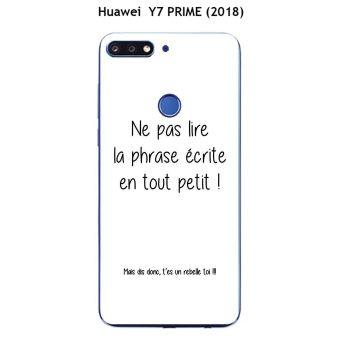 coque souple huawei y7 2019
