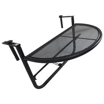 Table suspendue pour balcon dim. 60L x 45l cm hauteur ...