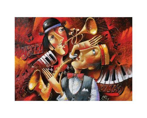 Puzzle 1000 Pièces : Jazz, Art Puzzle