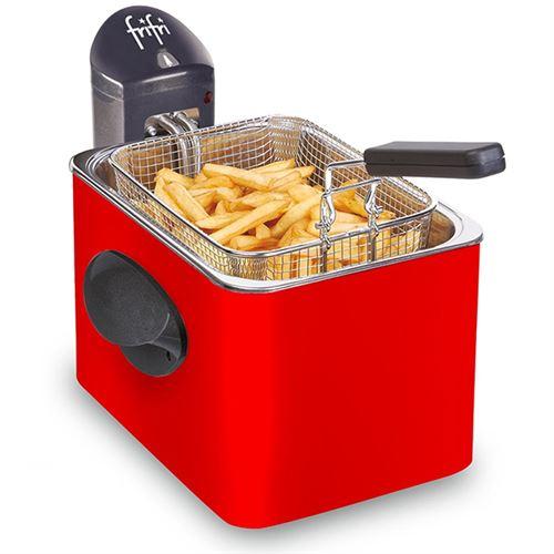 frifri 1905R - Friteuse - 3200 Watt - rouge