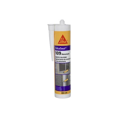 Mastic silicone SIKA Sikaseal 109 Menuiserie - Transparent - 300ml