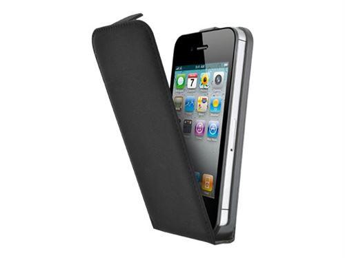 Etui Coque BigBen Blueway pour iPhone 4 4S Noir