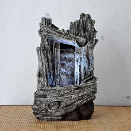 Fontaine Interieur Cascade Chute Du0027eau Deku Jimo   Gris   Décorations  Du0027aquarium   Achat U0026 Prix | Fnac