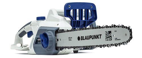 Tronçonneuse Électrique CS3000 2200 W Lame Blaupunkt XS 40 CM Frein de Chaîne Automatique 6 Kg Pour couper du bois jusqu'à 35 cm Diamètre V:13M/S