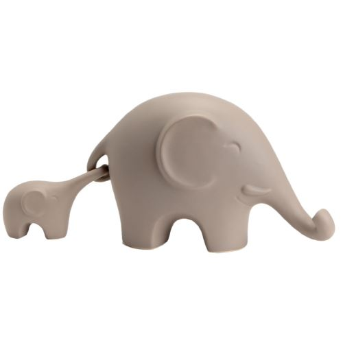 Statuette de décoration Éléphants beiges