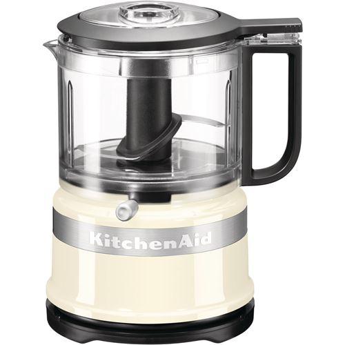 KitchenAid 5KFC3516EAC Mini - Robot multi-fonctions - 240 Watt - crème