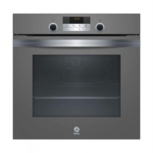 Four à pyrolyse Balay 3HB5848A0 71 L Aqualisis 3600W Anthracite