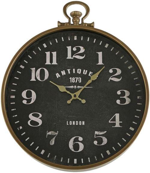 Versa - Horloge en métal Antique 40 cm