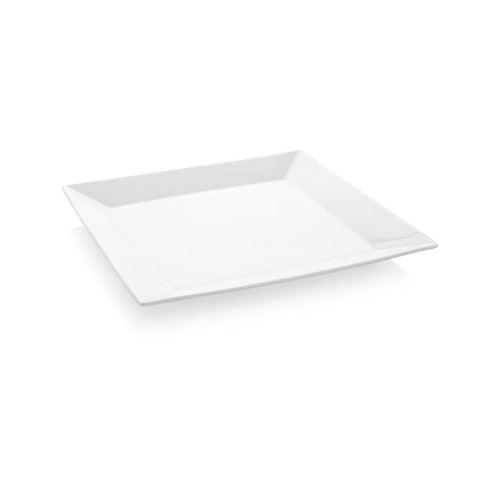 Assiette Carrée Bianco 240 ou 260 mm - x 6 - Fine Dine - 24 cm Porcelaine 240x240 mm