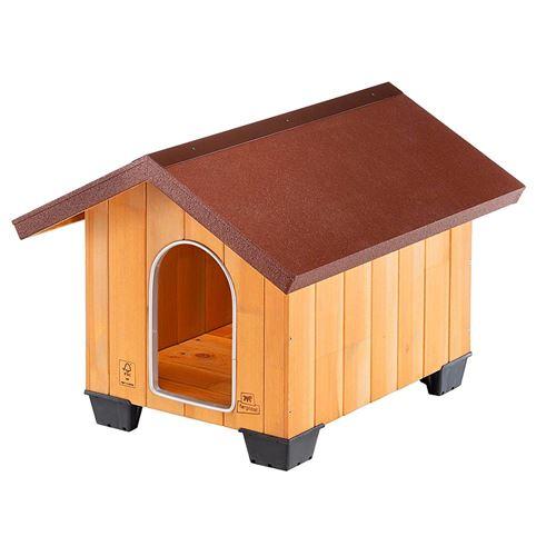 Ferplast Niche pour chiens Domus Small Bois 61 x 74,5 x 55 cm 87001000