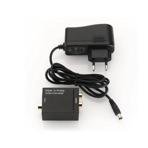 Convertisseur Audio Numérique vers analogique - Convertit un signal numérique (SPDIF Optique ou Coax