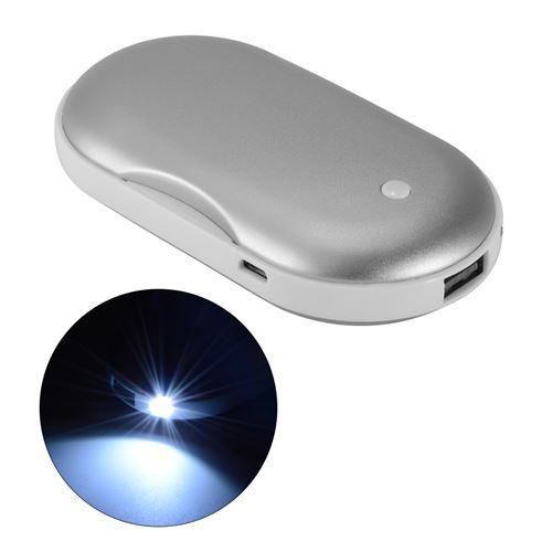 Batterie Chargeur Usb De Poche, Chauffe Main Electrique Pour Smartphone Mt552-fc