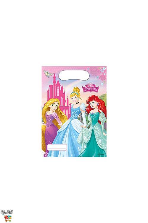 Disney Princess 47111 Lot DE 6 Sachets Cadeaux de Fête