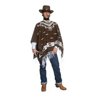 Costume Cowboy Authentique Bandit Version Clint Eastwood M Déguisement Adulte Achat Prix Fnac