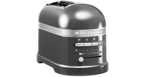 Grille-pain KitchenAid 5KMT2204EMS 1250 W Gris