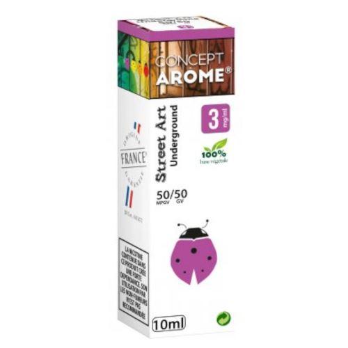 Conceptarôme - E-liquide Mixte Prenium – Underground 3 mg.