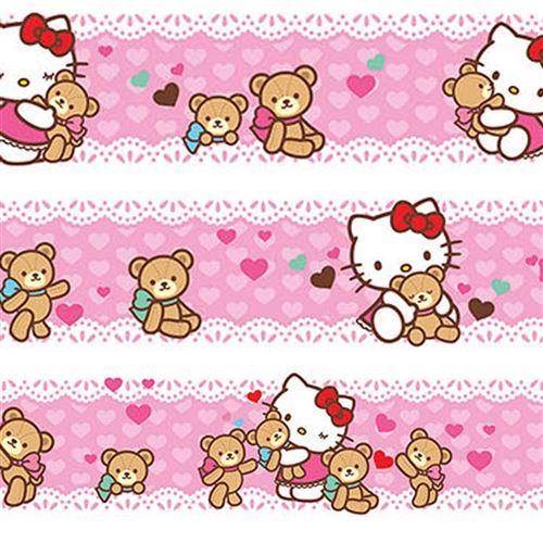 Maxi Frise Ourson Hello Kitty