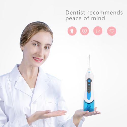 Sans fil hydropulseur eau Flosser USB rechargeable de soins dentaires nettoyant dentaire wedazano348