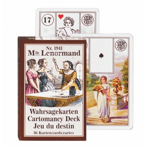 PIATNIK Cartes - Mlle Lenormand Multicolore