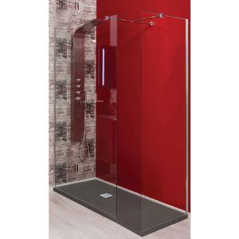 Receveur de douche en r sine 90x180 anthracite olan installations salles de bain achat - Receveur de douche 90x180 ...