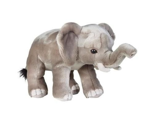 Geographics National Éléphant Africain Animaux En Peluche Jouet En Peluche (Taille Moyenne, Naturel) 5385