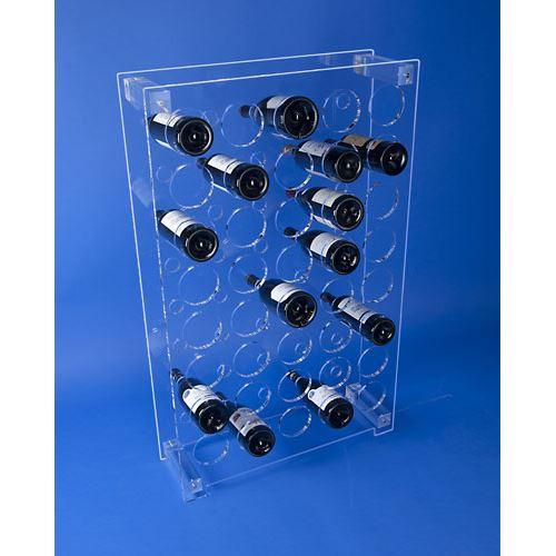 Casier à bouteilles en plexi
