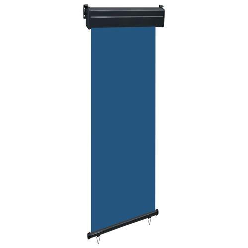 vidaXL Auvent latéral de balcon 60x250 cm Bleu