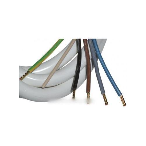 cordon de connexion four 1,2m 5x2,5mm pour installations constructeurs divers