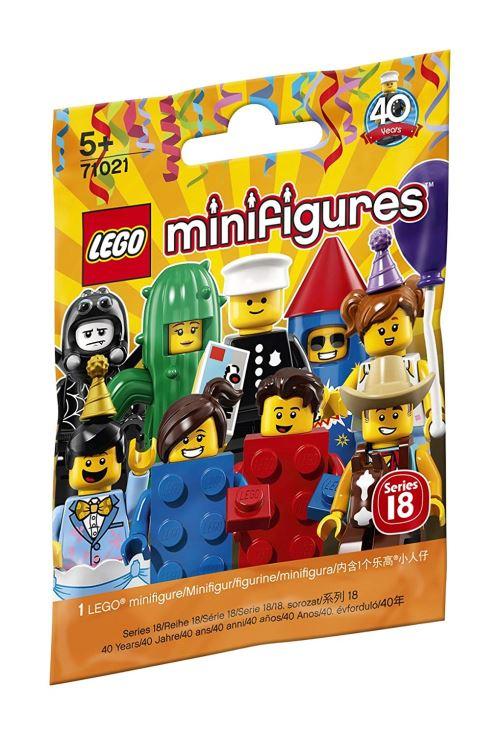 Lego 71021 minifigures - serie speciale 40 ans (sachet vendu a l unite)