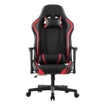 Fauteuil De Bureau LANGRIA Gaming Chaise En Faux Cuir (Rouge Et Noir)    Achat U0026 Prix | Fnac