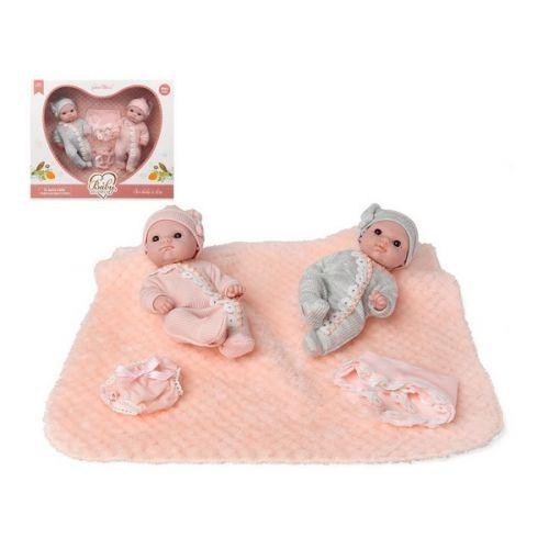 Poupée Bébé Twins Rose Bleu 115154