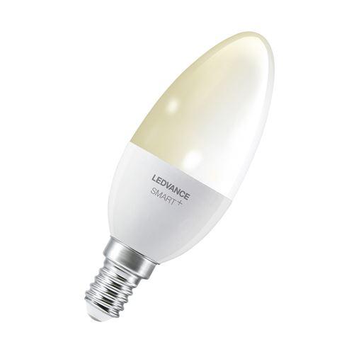 LEDVANCE Lampe LED Smart avec Bluetooth - E14 - dimmable - blanc chaud - contrôlable avec Google - Alexa et Apple Voice Control}