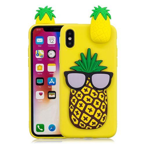 coque iphone xr motif ananas