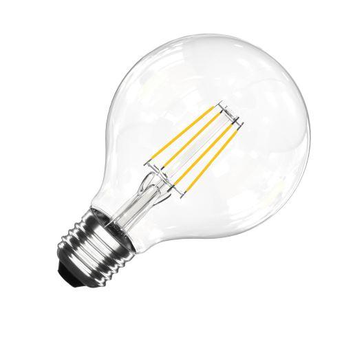 Ampoule LED TOSHIBA E27 G95 7W Blanc Chaud 2700K
