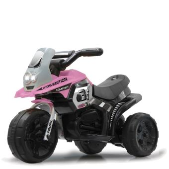 moto lectrique b b enfant 3 roues fille rose achat prix fnac. Black Bedroom Furniture Sets. Home Design Ideas