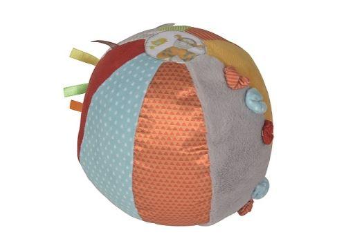 Disney baby - balle d'activités bébé en tissu winnie l'ourson Ø 18 cm