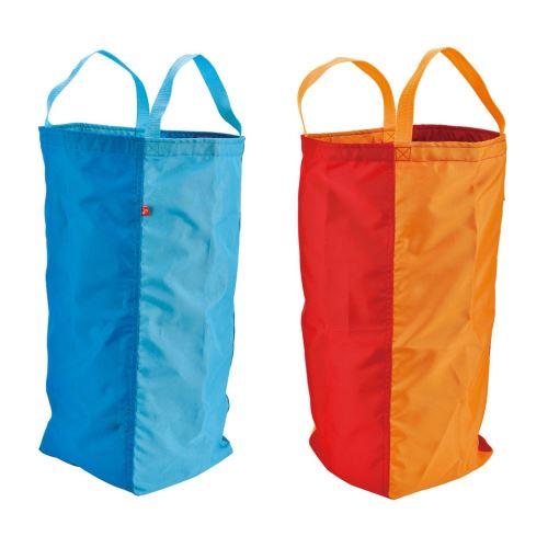 Hape sacs bébé bleu / rouge deux pièces