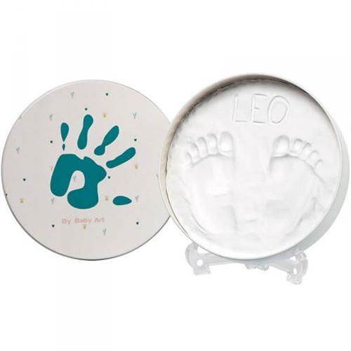 Boîte d'empreintes magic box originale ronde - baby art