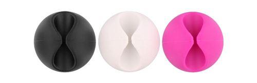 TNB 6 Passe-câbles - noir / blanc / rose