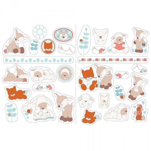 Autocollants stickers décoratifs fanny & oscar - nattou