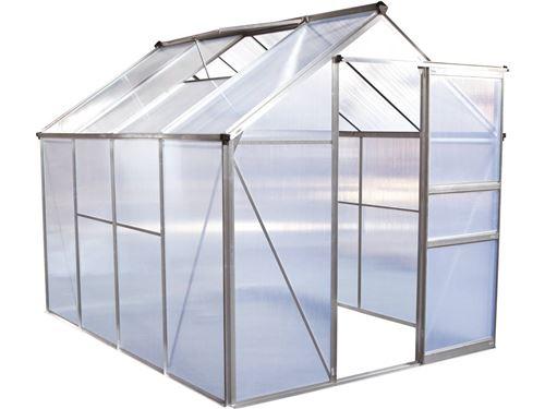serre jardin polycarbonate hortensia 4,8m²