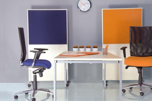 dossier de bureau en ergonomiquesynchrone tissu fauteuilchaise maille orange Evolution mOv8wNn0